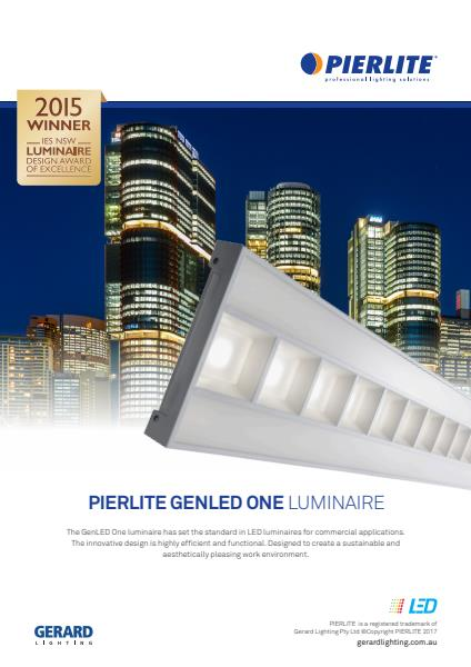 Gerard Lighting GenLED Luminaire product brochure