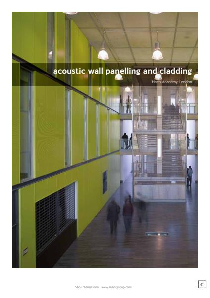 Acoustic Wall Panelling and Cladding Brochure