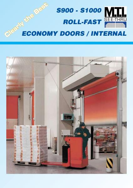 S900 - S1000 Roll Fast Economy Doors/Internal