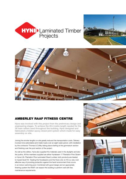 RAAF Physical Fitness Centre Product Sheet