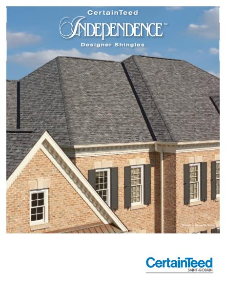 Independence Shingles Brochure