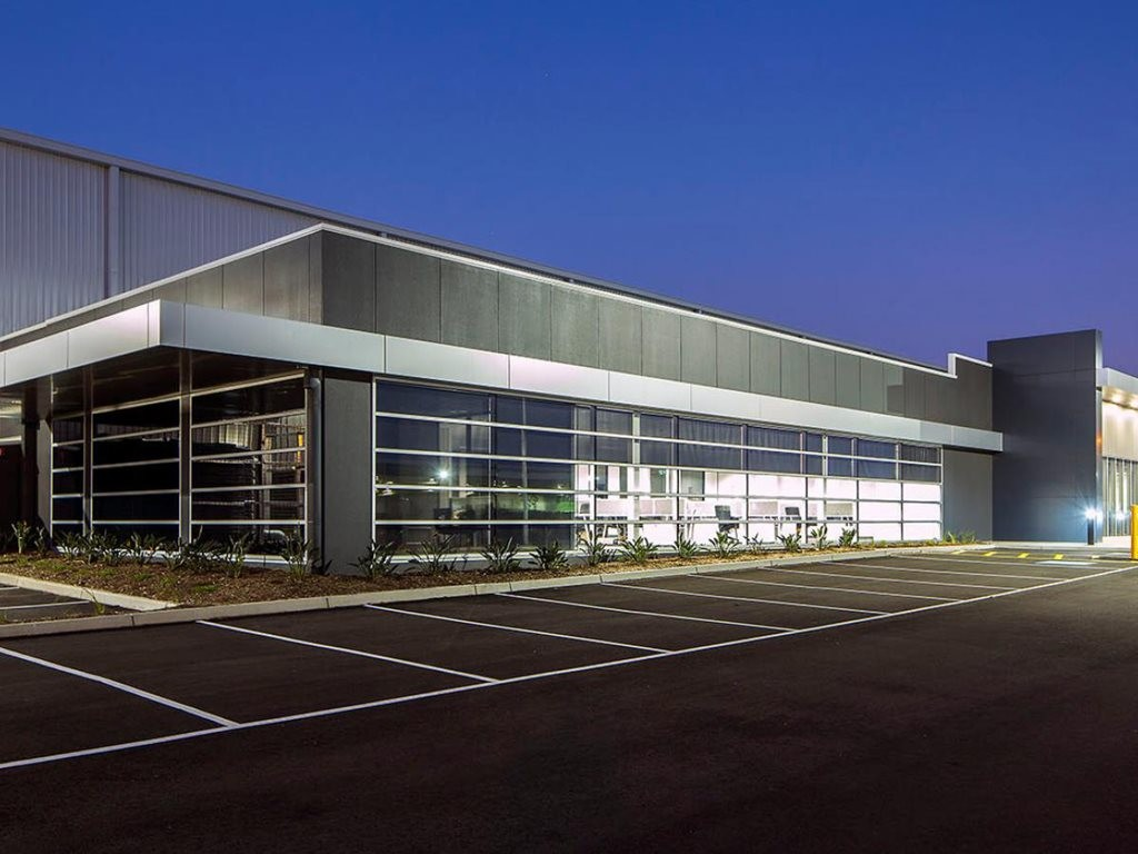 The 5 star Green Star rated Wyndham Industrial Estate Image: Vaughan Constructions