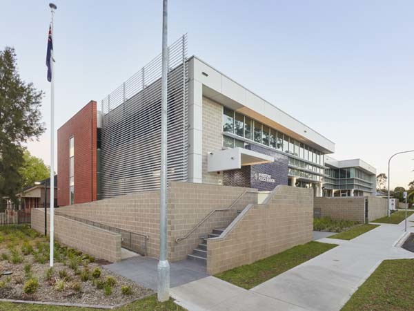 Cemintel's Surround cladding on Riverstone Police Station