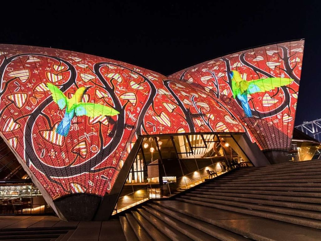 Badu Gili means 'water light' in the language of the Gadigal people. Image: Sydney Opera House