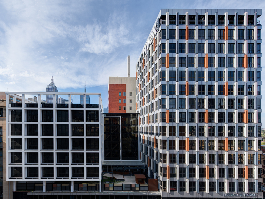 Rubik's Cube: Innovative construction in a 'New York' style office