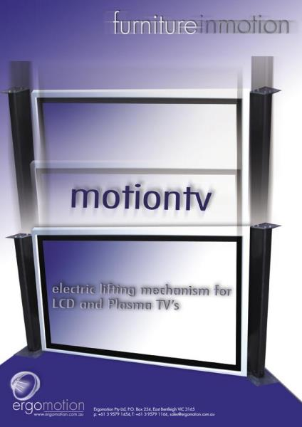 MotionTV Product Brochure