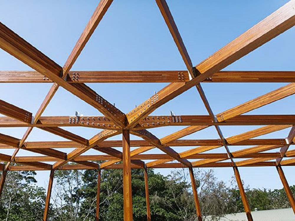 Timber as a building material