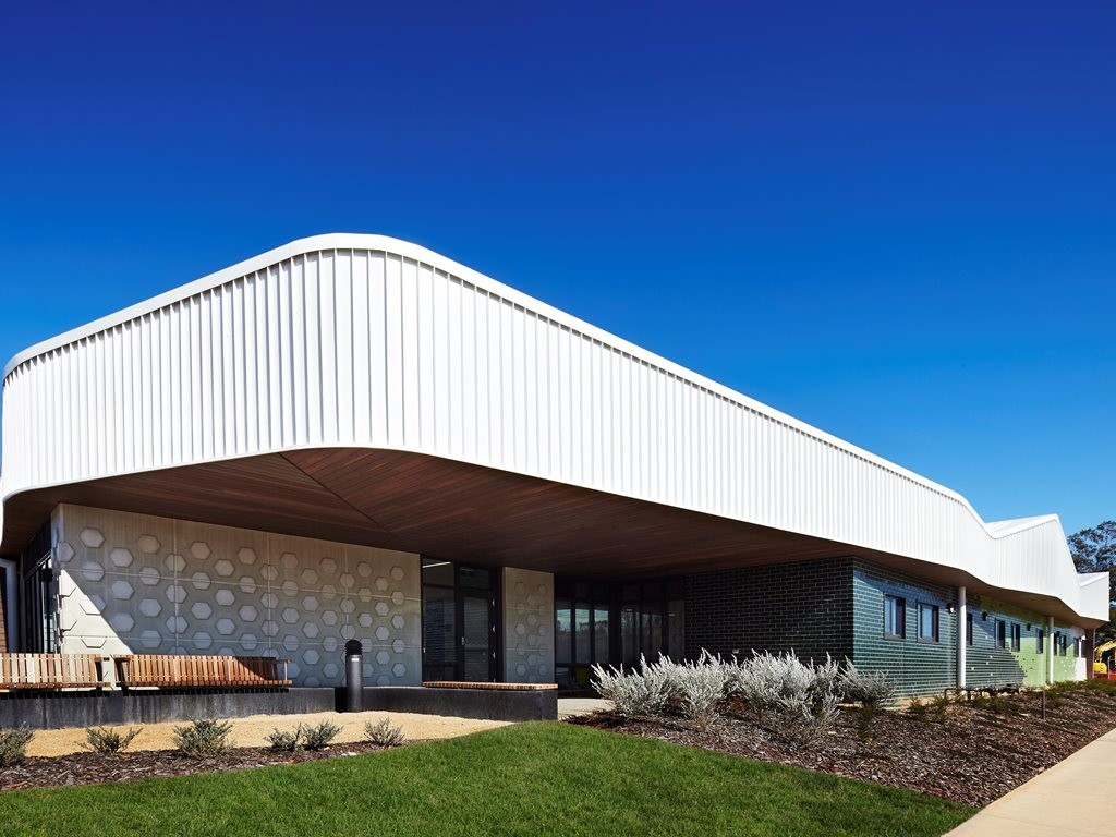 Shape shifter: Group GSA use colour and geometry to link spaces and brighten faces at Numurkah hospital