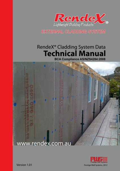 RendeX External Cladding System Technical Manual