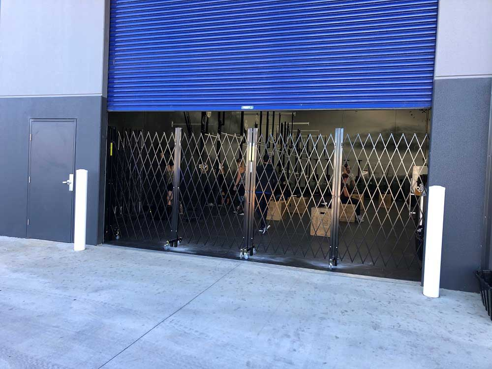 Crossfit Gym at Smeaton Grange in Sydney featuring ATDC barriers
