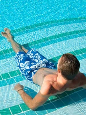 Create a splash with TFO pool tiles
