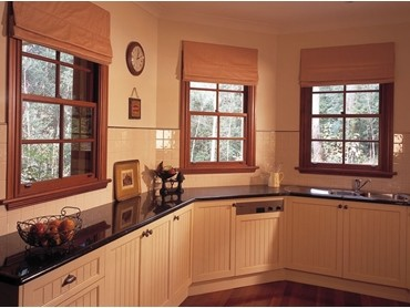 Trend Western Red Cedar Double Hung Windows - Western Red Double Hung Windows