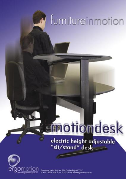 Motiondesk™ Electric Height Adjustable Desk