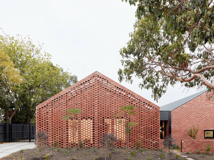 Celebrating brick in a sustainable rental housing solution