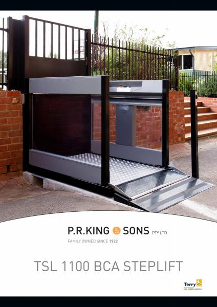 The Terry Wheelchair Lift From P.R King & Sons