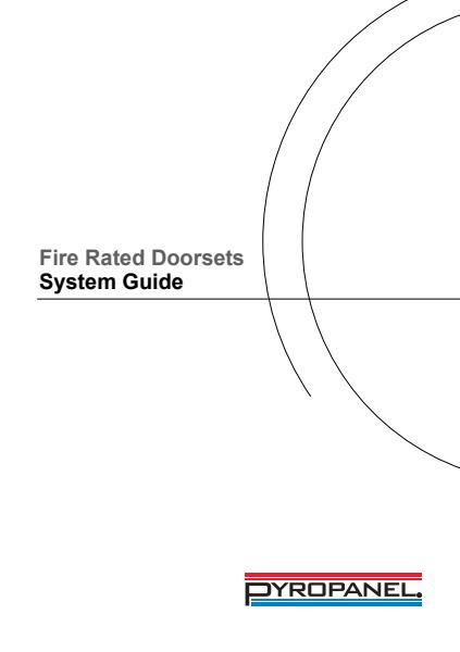 Pyropanel® Fire Rated Doorsets