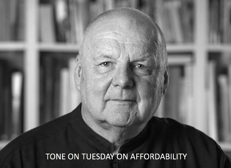 Tone Wheeler housing affordability