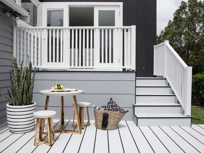 Parents' Retreat by Three Birds Renovations with HardieDeck