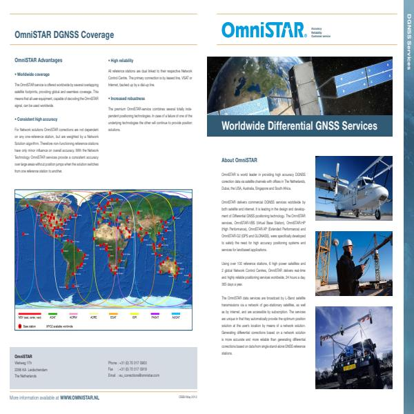 Worldwide Differential GNSS Services Brochure