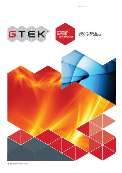 GTEK fire & acoustic guide