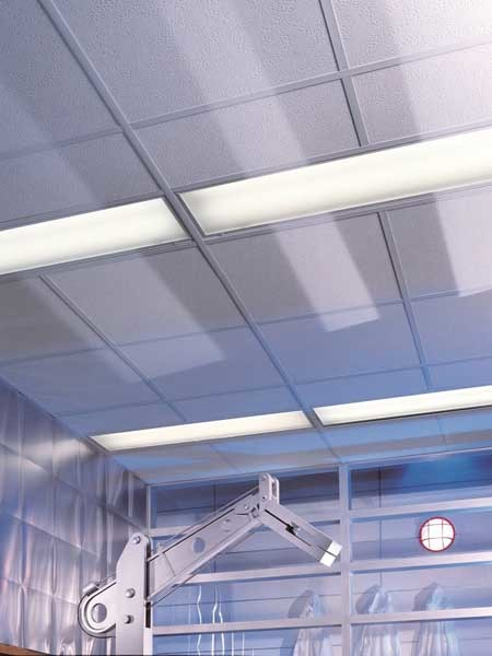 USG Boral plasterboard walls and ceilings offer a smooth and seamless surface finish that is easy to clean and disinfect