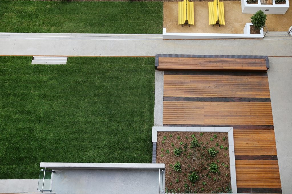 The Platform - North Eveleigh Affordable Housing by Arcadia Landscape Architecture (Architect: Architectus)