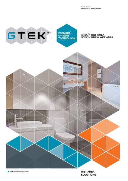 GTEK fire & wet area solutions technical brochure