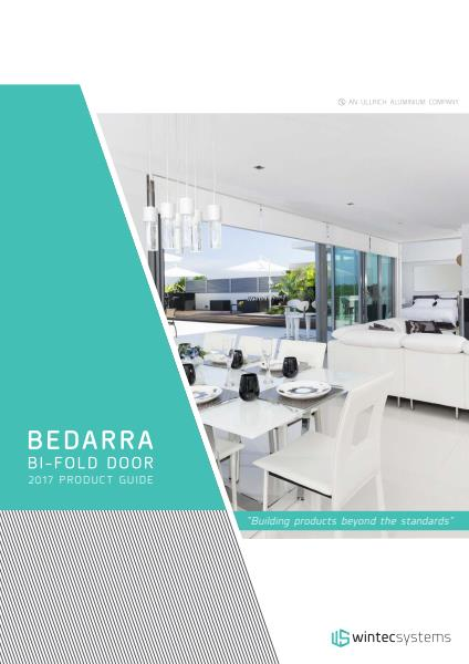 Wintec Systems Bedarra Bi-fold Door fabrication reference