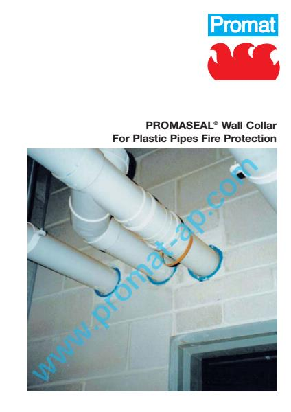 PromaSeal Wall Collar flyer