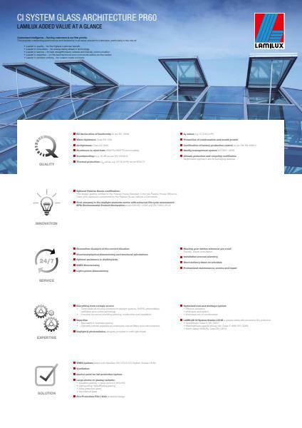 Lamilux At A Glance Brochure