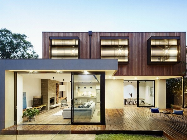 The Glen Iris home