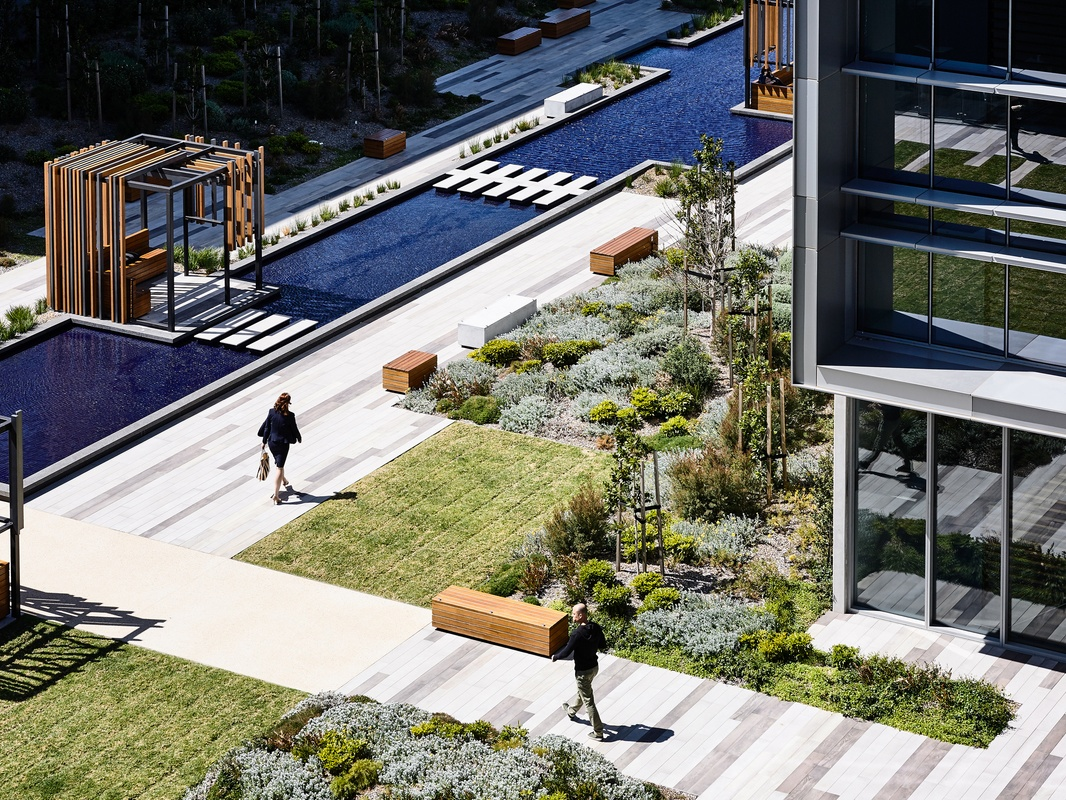 A sustainable business park designed for employee wellbeing
