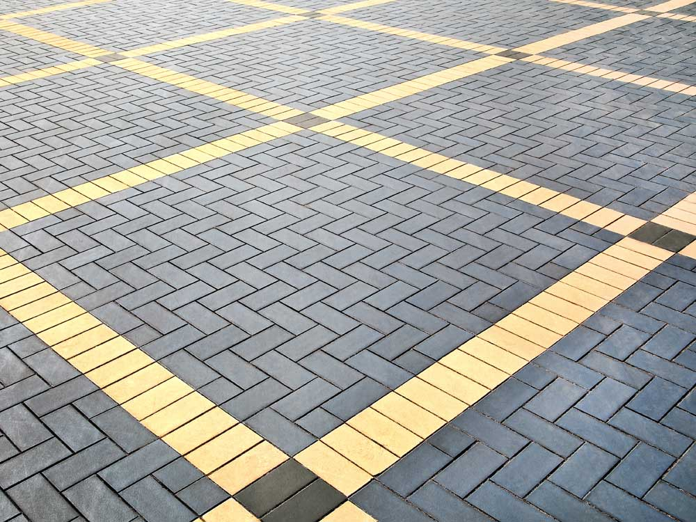 SRW penetrating paver seal prevents colour fade, surface erosion and deep staining