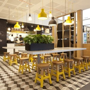 McDonalds Thornleigh by Juicy Design signals localisation of restaurant concepts
