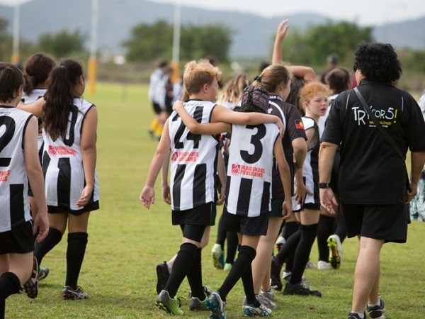The Garbutt Magpies Cup uses sport as a vehicle to promote messages of resilience, strength and connectedness to kids