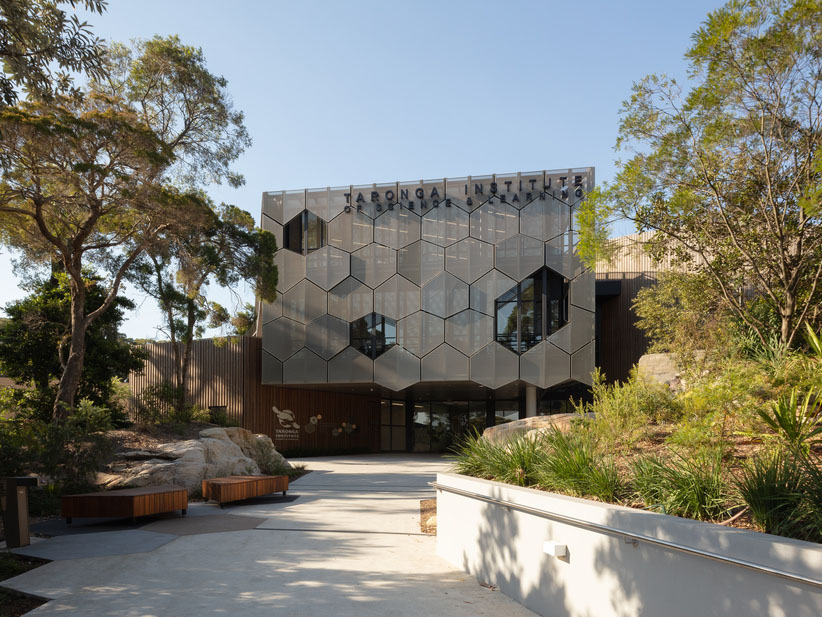 A DNA-inspired design for Taronga's conservation hub
