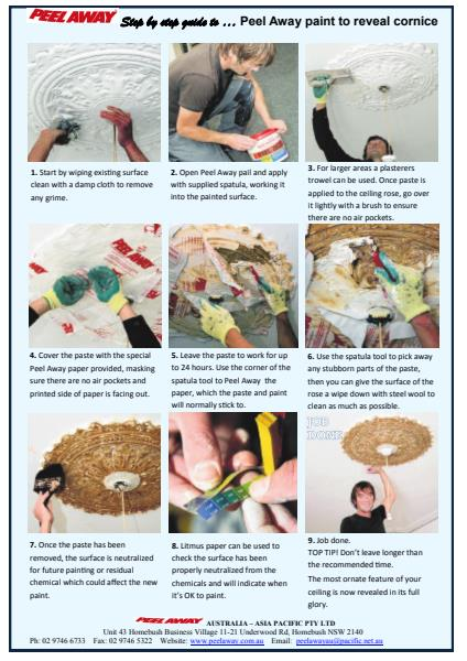 How to Guide - Peel Away on Plaster Ceiling Sequence