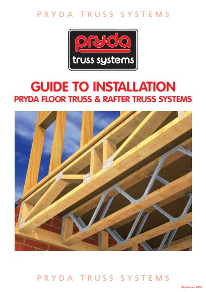 Floor and Rafter Systems Installation Guide