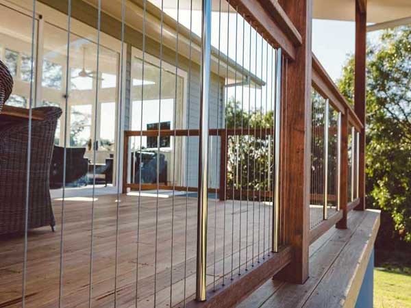 The location is the most important consideration when it comes to installing balustrades