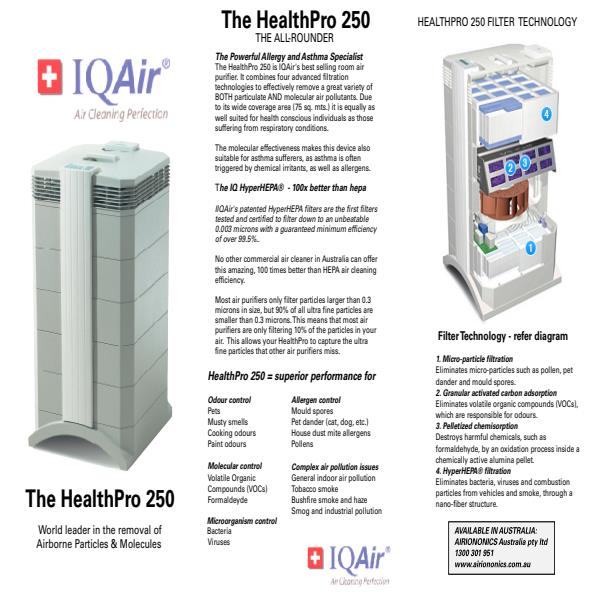 HealthPro® 250 Product Brochure