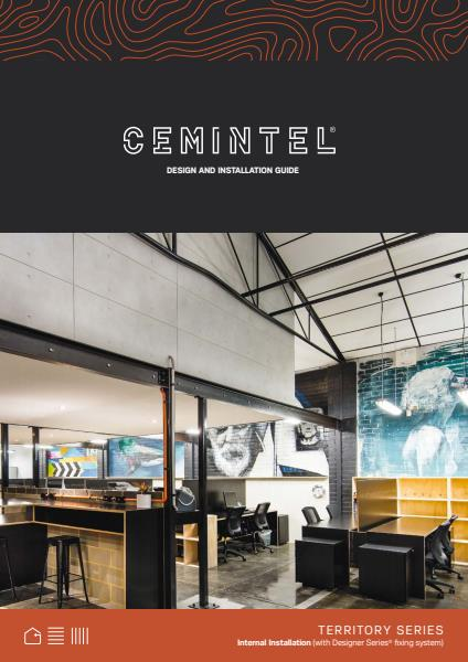 Cemintel Territory internal installation guide