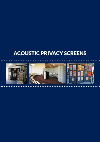 Acoustic Privacy Screen Brochure