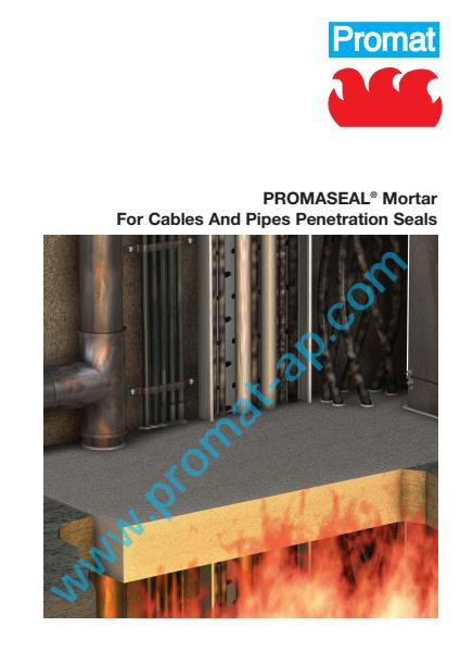 PromaSeal Mortar flyer