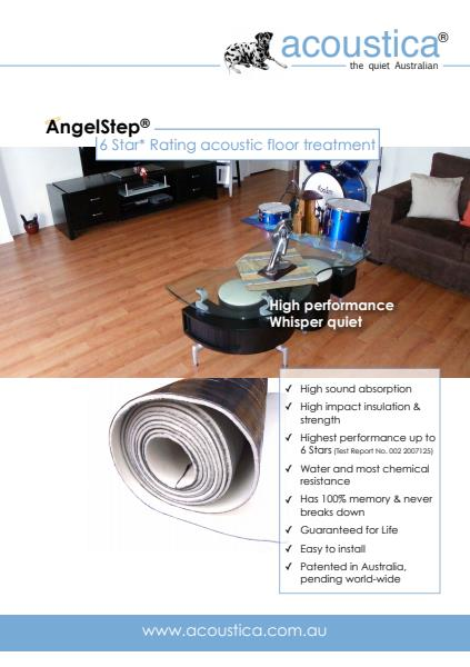 AngelStep Acoustic Floor Treatments