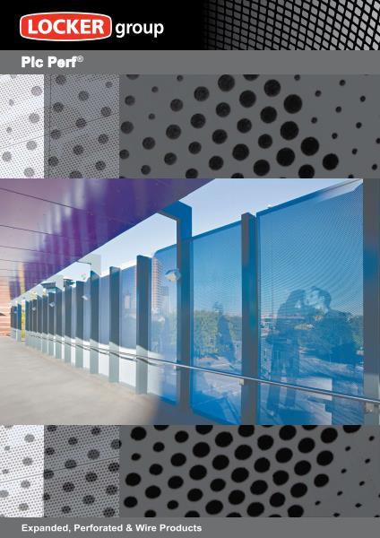 Pic-Perf® Architectural Perforated Metal Panels