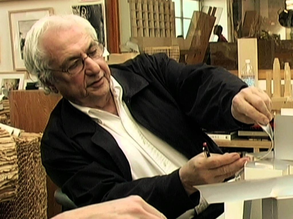 Image: Sketches of Frank Gehry