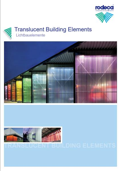 Rodeca Translucent Building Elements