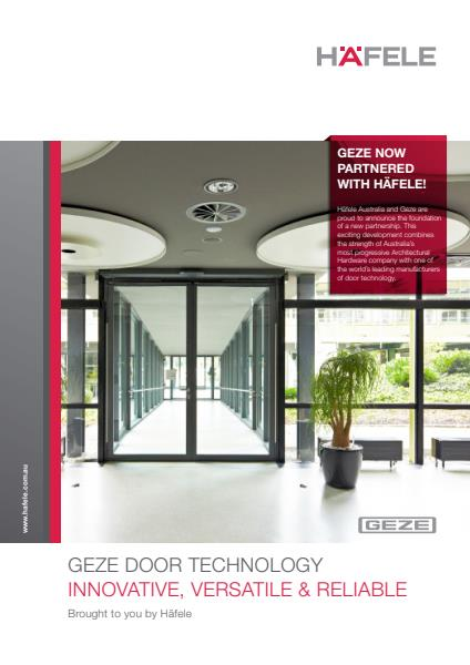 GEZE DOOR TECHNOLOGY