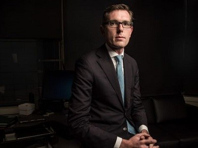 Treasurer Dominic Perrottet says the NSW Productivity Commission will drive reforms. Photo: Wolter Peeters