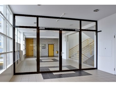 Steel Hinged doors